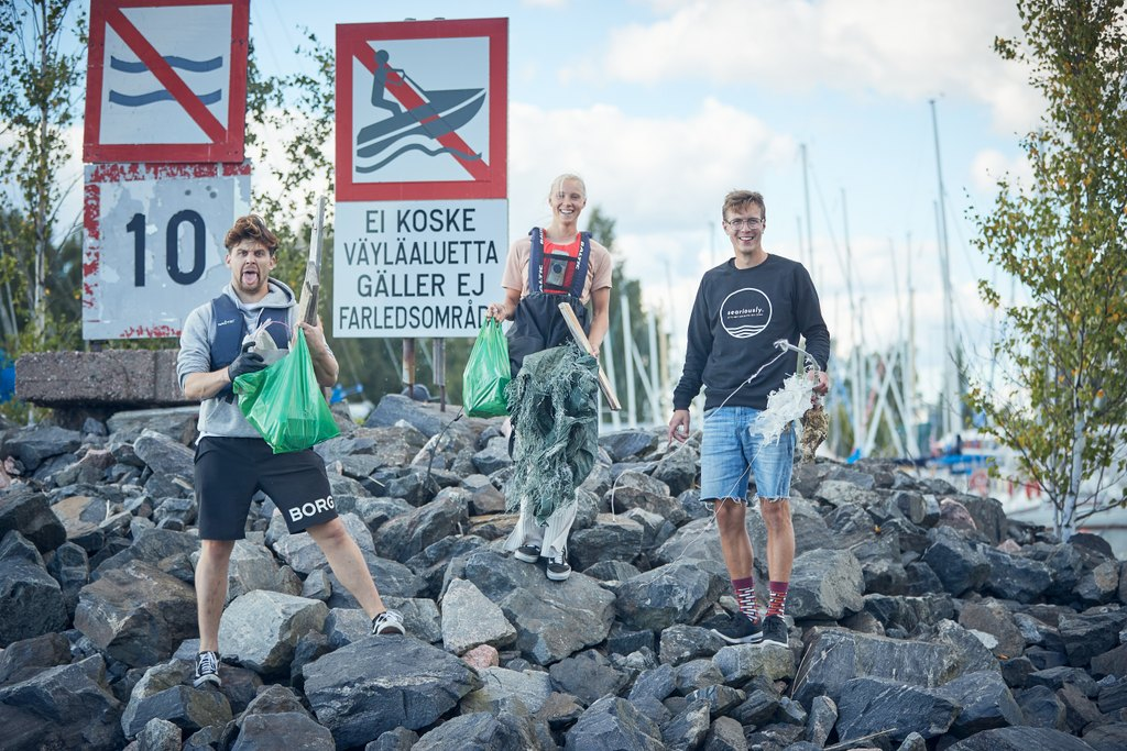 Laguunin kesä 2020: Itämeri plogging